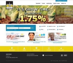 Credit Union - Home Page